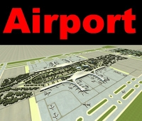 Airport 15 3D Model