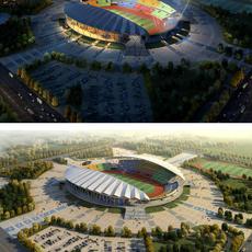 Grand Stadium 001 3D Model