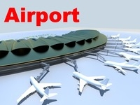 airport 08 3D Model