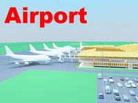 airport 07 3D Model