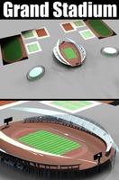 Grand Stadium 007 3D Model