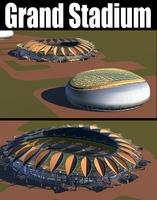 Grand Stadium 008 3D Model