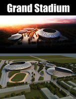 Grand Stadium 012 3D Model