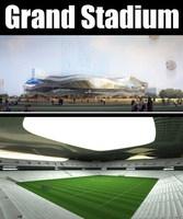 Grand Stadium 013 3D Model