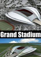 Grand Stadium 015 3D Model