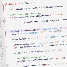 Maya MEL Syntax Highlighting for Notepad++ 1.0.0