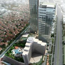 building 002 3D Model