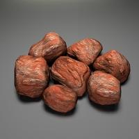 Rocky Stones lowpoly 3D Model