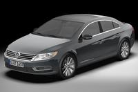 2013 Volkswagen cc 3D Model