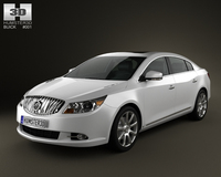 Buick LaCrosse (Alpheon) 2011 3D Model
