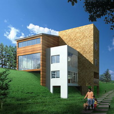 House 014 3D Model