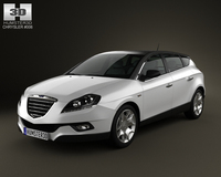 Chrysler Delta 2012 3D Model