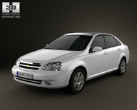 Chevrolet Lacetti Sedan 2011 3D Model