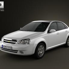 Chevrolet Lacetti Sedan 2011 3D Model
