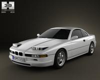 BMW 8 Series (E31) 3D Model