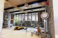Gym 018 3D Model
