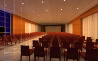 Auditorium room 002 3D Model