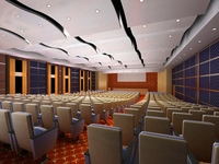 Auditorium room 005 3D Model