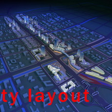 Urban design 003 3D Model