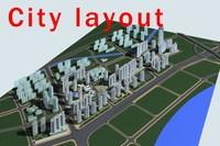 Urban design 004 3D Model
