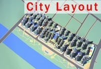 Urban design 009 3D Model