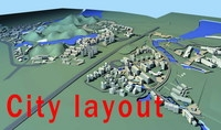 Urban design 011 3D Model