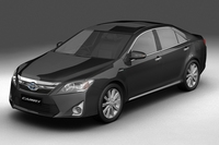 2012 Toyota Camry Hybrid (Asian) 3D Model
