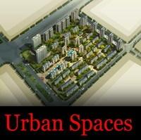 Urban design 080 3D Model