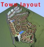 Urban Design 013 3D Model