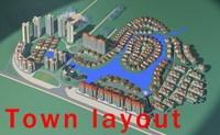 Urban Design 014 3D Model