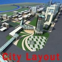 Urban Design 016 3D Model