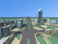 Urban Design 018 3D Model
