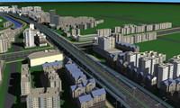Urban Design 020 3D Model