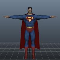 Free Superman 3D Model