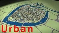 Urban Design 022 3D Model