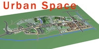 Urban Design 024 3D Model
