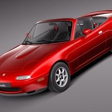 Mazda MX-5 Miata 1989-1997 3D Model