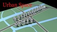 Urban Design 036 3D Model