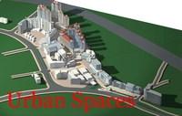 Urban Design 039 3D Model