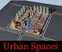 Urban Design 040 3D Model