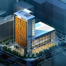 building 063 3D Model
