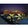 04 37 10 496 china ancient birdge 1 yaan wind and rain porch bridge lighting 003 4