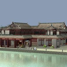 The Fulongguan Temple 3D Model