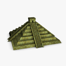 Ancient pyramid 3D Model