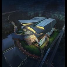 building 093 3D Model