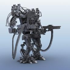 Robot 04 3D Model