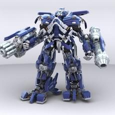 Ironhide Robotic Character 3D Model