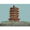 04 40 57 268 the huanghelou tower 02 4