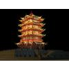 04 40 58 34 the huanghelou tower night sence 02 4