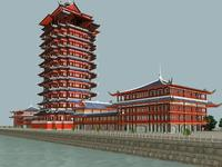 The Shita Tower 3D Model